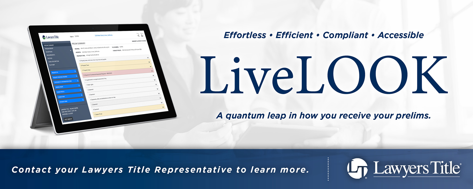 LiveLOOK Created By Lawyers Title